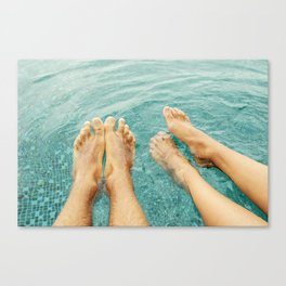 Summer for two! Canvas Print