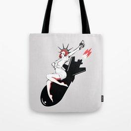 Bombshell - Statue of Liberty Political Art Print Tote Bag
