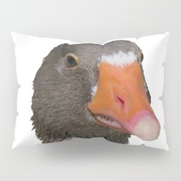 A Wise Duck Takes Care Of Its Bill Pillow Sham