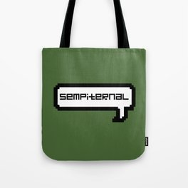 Sempiternal - Green Tote Bag