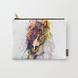 Abstract Horse Head Carry-All Pouch