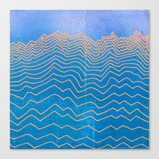 Linear No. 3 Canvas Print