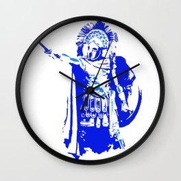 Greek hoplite warrior Wall Clock