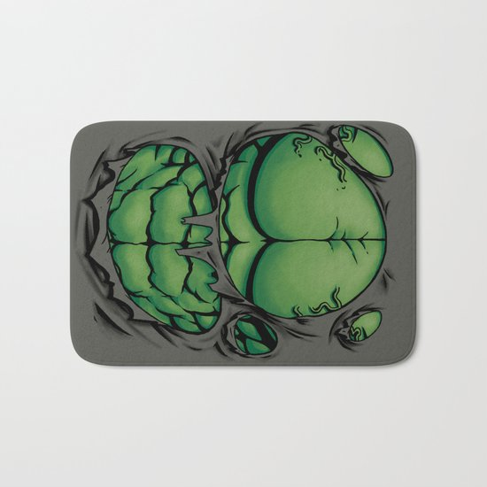 The Green Giant Bath Mat