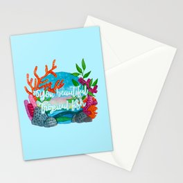 You beautiful, tropical fish Stationery Cards