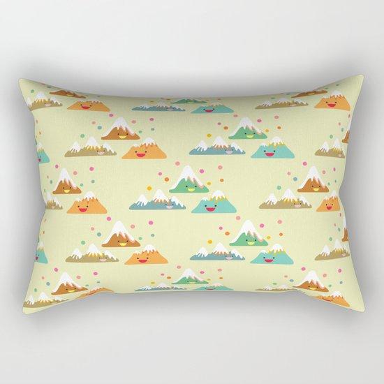 Mountain Friends Rectangular Pillow