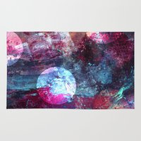 night sky Area & Throw Rugs featuring Night Sky by Marlidesigns