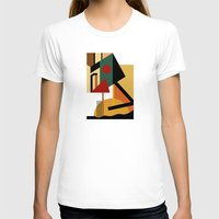 kandinsky T-shirts featuring THE GEOMETRIST by THE USUAL DESIGNERS