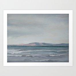 lake Winds Art Print