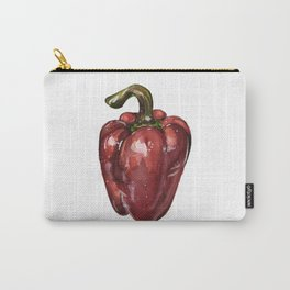 Red Bell Pepper Carry-All Pouch