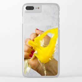 Destroyer of Eggs Clear iPhone Case