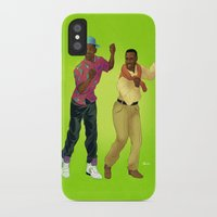 fresh prince iPhone & iPod Cases featuring Fresh Prince by Dave Collinson