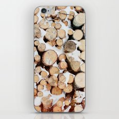 Firewood iPhone & iPod Skin