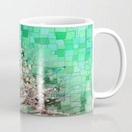 Fresh Dandelions Mosaic Coffee Mug