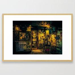 Tokyo Store/ Anthony Presley Photo Print Framed Art Print