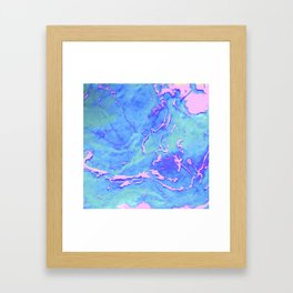 Fiji Beaches Framed Art Print