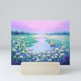 Pools of Blessing After Rain Mini Art Print