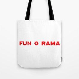 FUN O RAMA Tote Bag