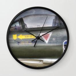 Turkish Air Force F104G Starfighter Wall Clock