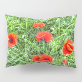 Summer Poppy Pillow Sham