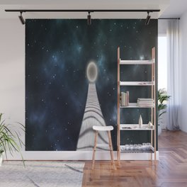 away to the moon Wall Mural
