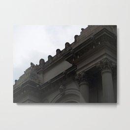 Met Museum  Metal Print