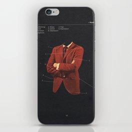 Manhood iPhone Skin