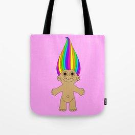 Rainbow Troll Tote Bag