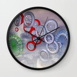 rolling reels Wall Clock