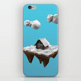lowpoly winter iPhone Skin