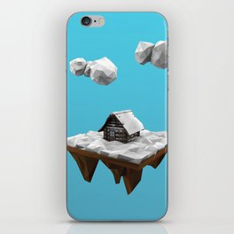 lowpoly winter iPhone Skin