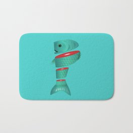 P is for sliced Phish Bath Mat
