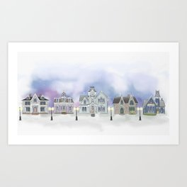 Vintage Row Vol2 Art Print