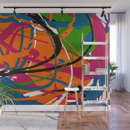 Wet Paint no. 04 Wall Mural
