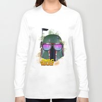 boba fett Long Sleeve T-shirts featuring Boba Fett by Heretic