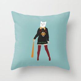 Heist Throw Pillow