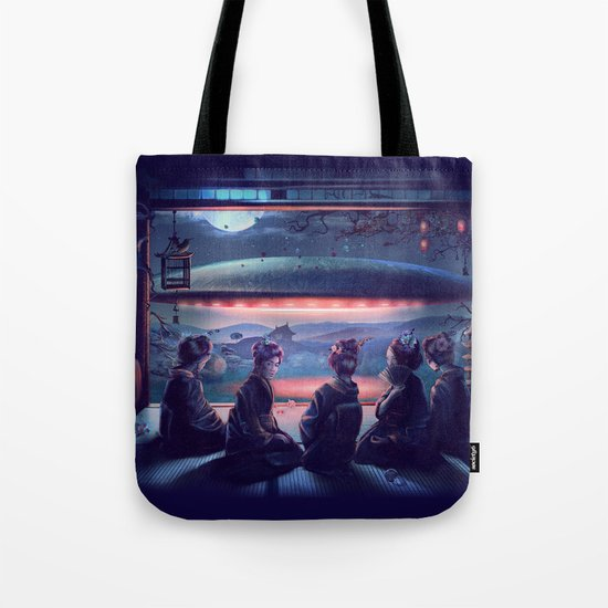 Night Guest  Tote Bag
