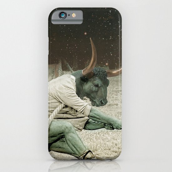 locking horns under Taurus iPhone & iPod Case