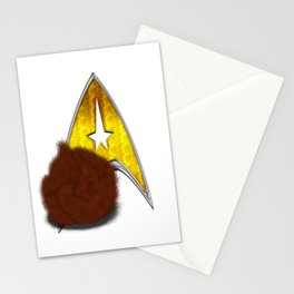 StarTrek Command Signia Shaggy Tribble Stationery Cards