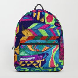 Brilliant Colors and Shapes Backpack