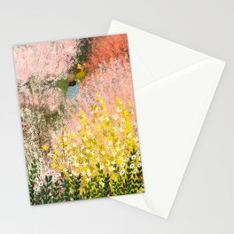 Walking Through Blossom Stationery Cards