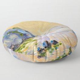 Lonely sailer Floor Pillow
