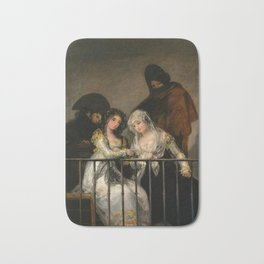 "Francisco Goya ""Majas on a Balcony"" Bath Mat"
