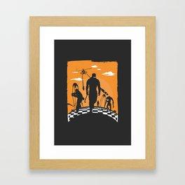 Gordo Life Framed Art Print