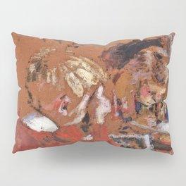 Edouard Vuillard - Children Reading - Digital Remastered Edition Pillow Sham