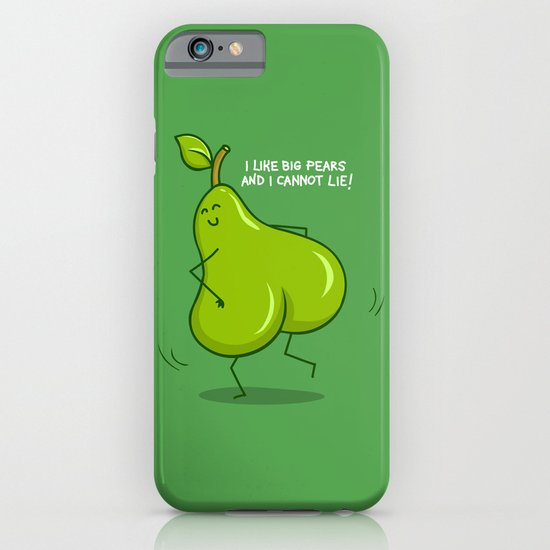 One sASSy pear! iPhone & iPod Case
