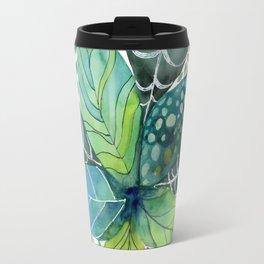 Leafy Tropical Travel Mug
