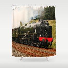 46115 Scots Guardsman Shower Curtain
