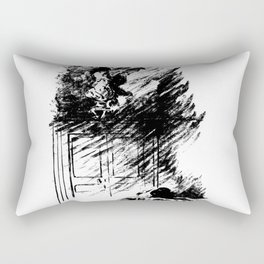 Edouard Manet - The raven by Poe 3 Rectangular Pillow