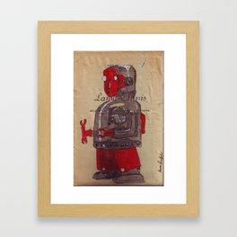 Robot 15 Framed Art Print